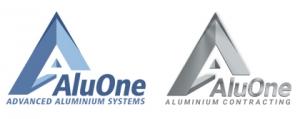 Aluone Aluminium construction  Logo
