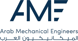 Arab Mechanical Engineers  Logo