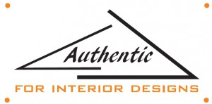 Authentic for Interior Designs  Logo
