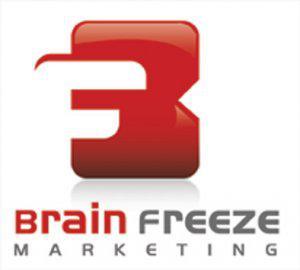 Brain Freeze Maketing Logo