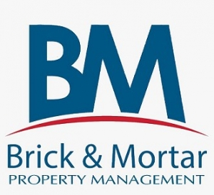 Brick & Mortar Real Estate Logo