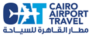 Cairo Airport Travel Logo