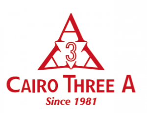 Cairo Three A  for International Industries. Logo