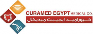Curamed Egypt Medical Logo