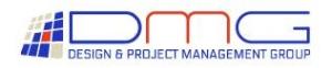 DMG (Design and Management Group) Logo