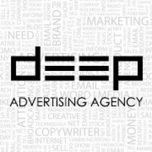 Deep Advertising Agency Logo