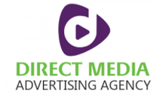 Direct Media Advertisement Agency Logo