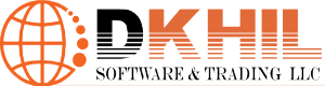 Dkhil for software& trade Logo