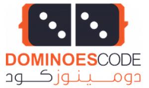 Dominoes code Logo