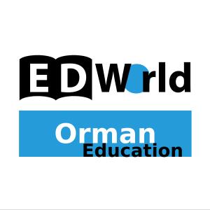 ED World - Orman Education Logo