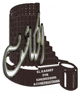 Elkashef for engineering and contracting Logo