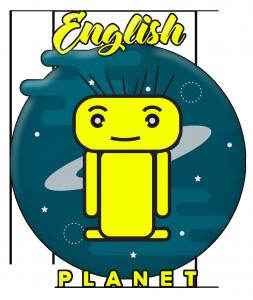 English planet Logo