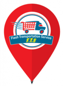 Flash Transportation Service Logo