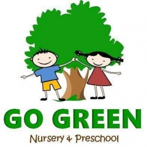 Go green nursery & preschool Logo