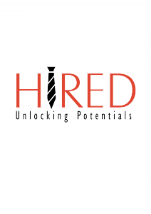 HIRED Recruitment Logo