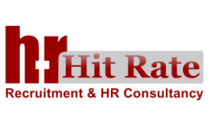 Hit Rate Recruitment & HR Consultant. Logo