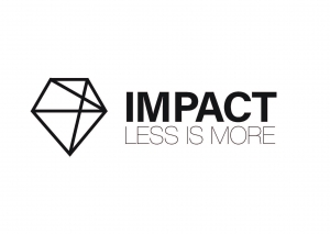 Impact For finishes and decorations Logo