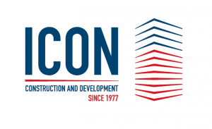 Industrial Engineering Company  for Construction and Development (ICON) Logo