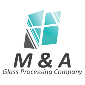 M & A Glass Processing Company Logo