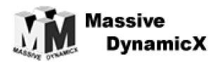 Massive DynamicX Logo