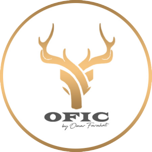Omar Farahat for Interiors and Construction - OFIC Logo