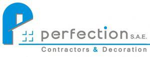 Perfection for Contracting & Decorating Logo