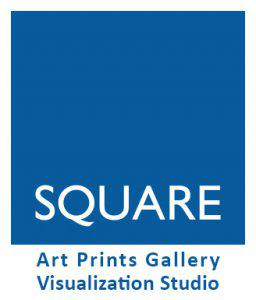 SQUARE Art Gallery and 3D Studio Logo