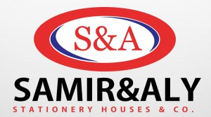 Samir and Aly Stationery Houses and Co. Logo