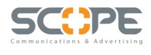 Scope for Communication & Advertising Logo