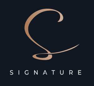 Signature for real estate Marketing and Promoting Logo