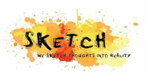 Sketch Advertising  Logo