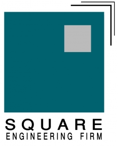 Square Engineering Firm Logo
