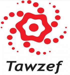 Tawzef Logo
