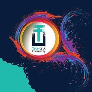 Tele Talk Community  Logo