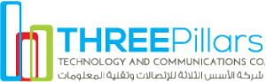 Three Pillars Technology and Communications Co. Logo