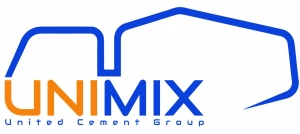 Unimix Egypt for Readymix concrete Logo