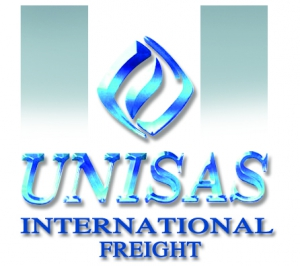 Unisas International Freight  Logo