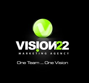 Vision 22 Advertising Agency Logo