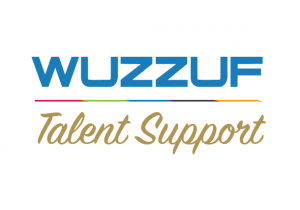 WUZZUF Talent Support Logo