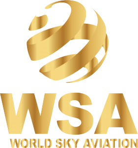 World Sky Aviation  Logo