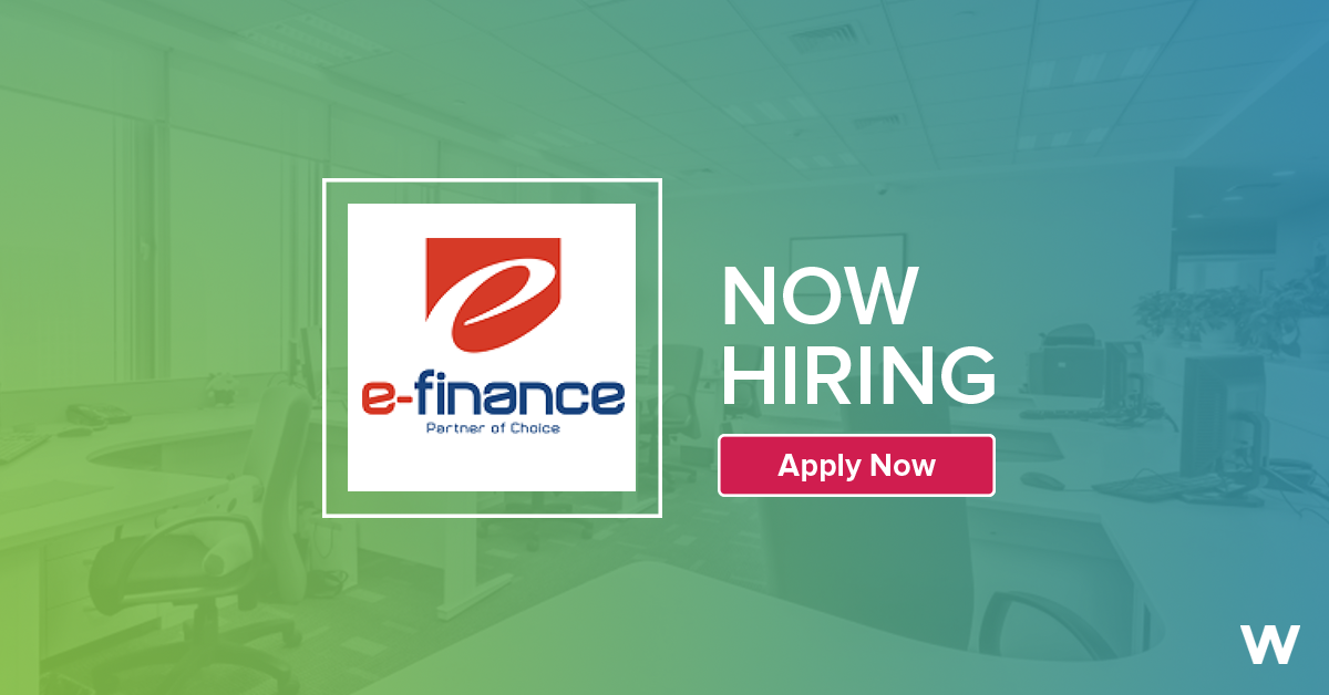 Job: Retail Operation Team Leader at e-finance in Giza