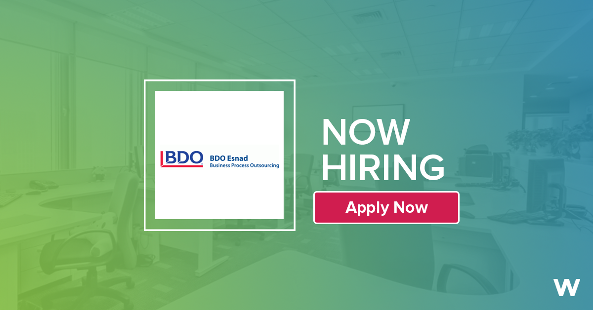 Job: Finance and Accounting Supervisor at BDO Esnad in Cairo, Egypt