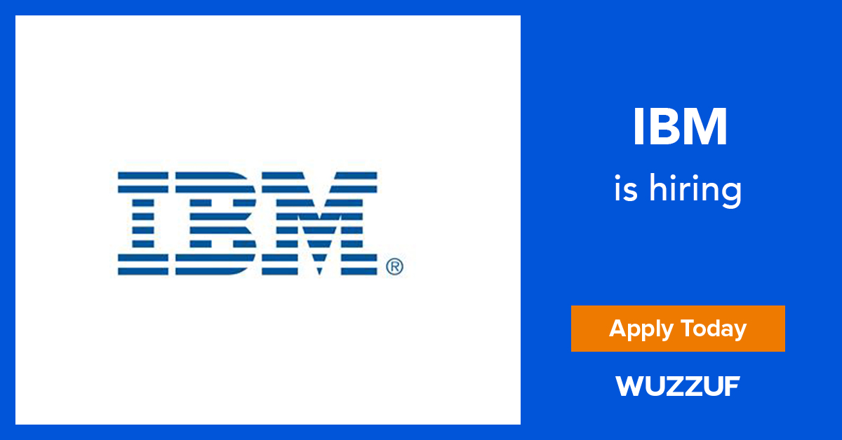 Job: Learning Consultant at IBM in Cairo, Egypt | WUZZUF
