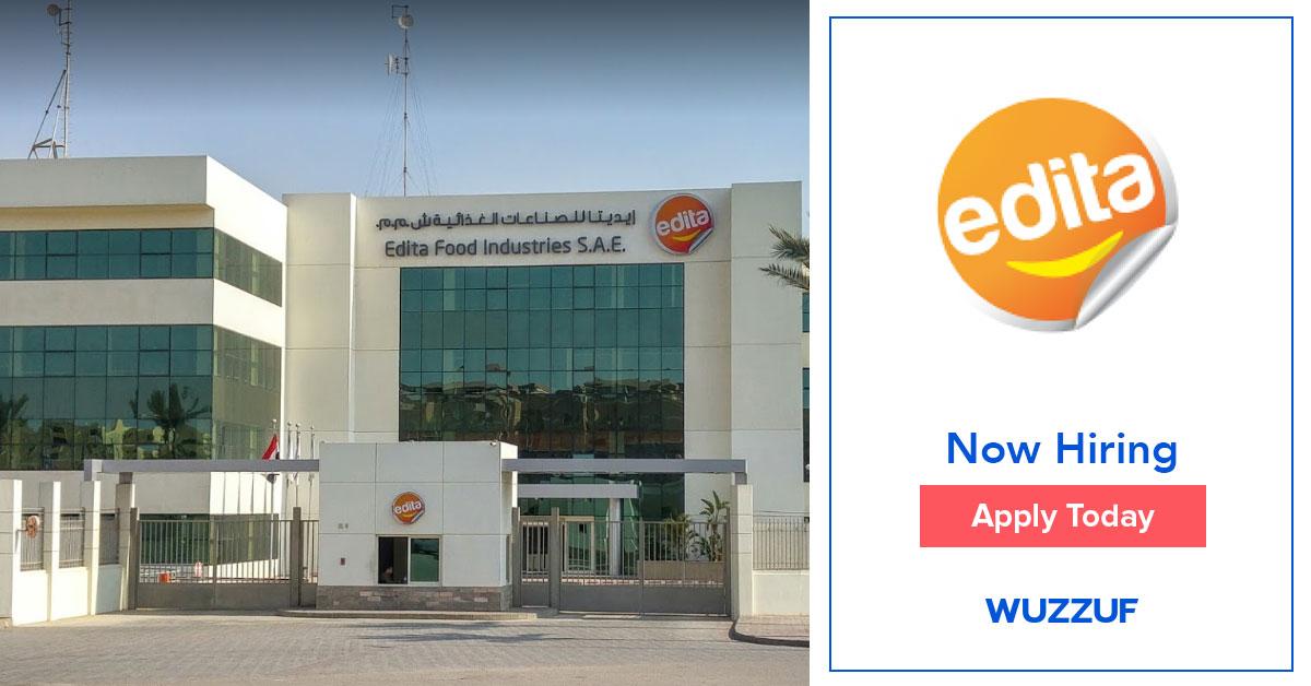Job: Senior Internal Auditor - Cairo  at Edita Food