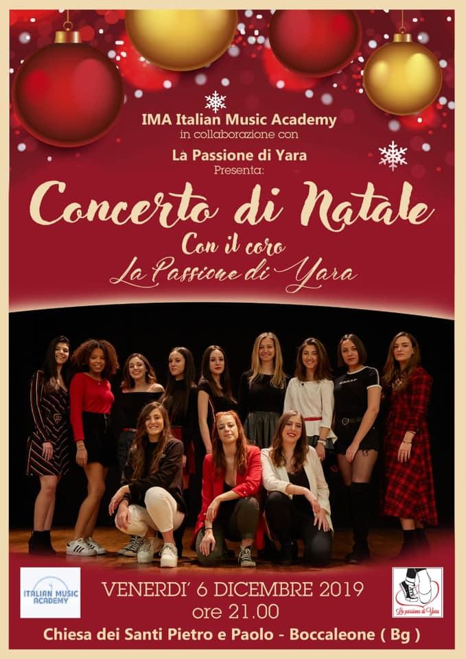 Concerto di Natale con il Coro La Passione di Yara