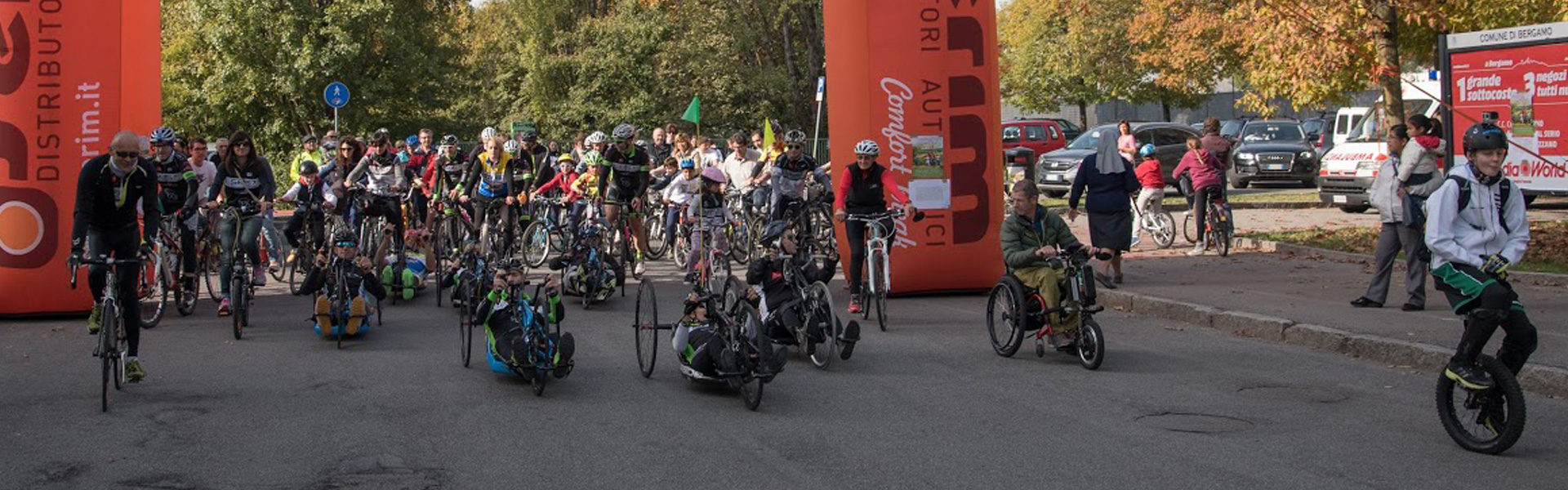 BiciclettHando: passeggiata ciclistica solidale a Bergamo
