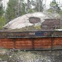 Шахта пусковых установок Р-14У под Сморгонью