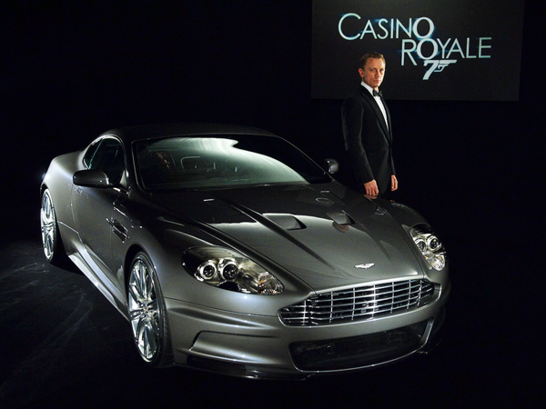 2006 Aston Martin Dbs James Bond Casino Royale Daniel Craig