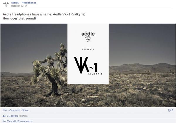 Aedle Headphones Fb Launch
