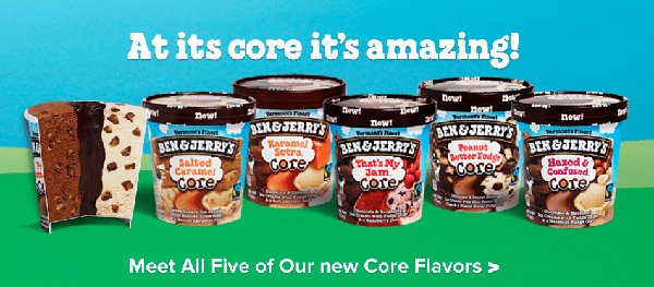 Ben And Jerrys Core Ice Cream